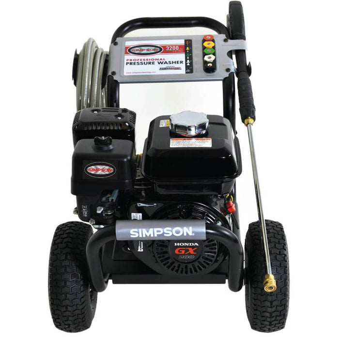 Simpson PS3228-S 3,300-Psi 2.5-Gpm Cold Water Gas PowerShot Pressure Washer