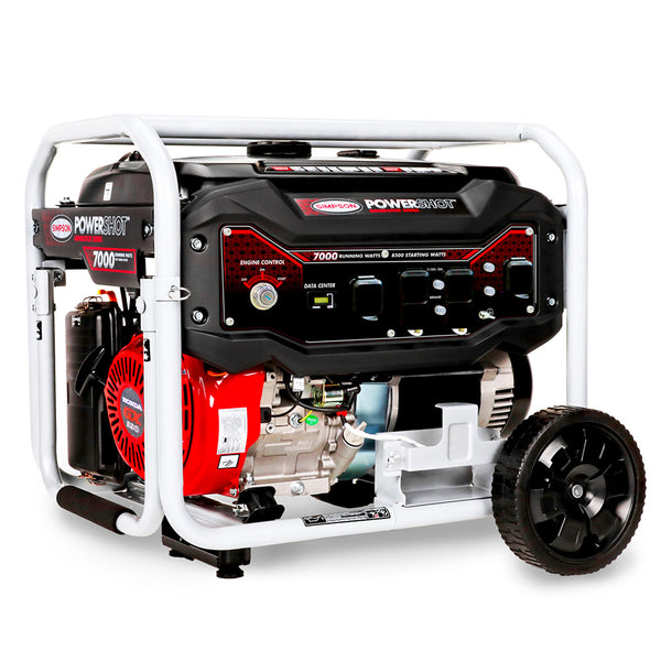 Simpson 70010 7500 Watt Electric Start Gas Powered Portable Generator