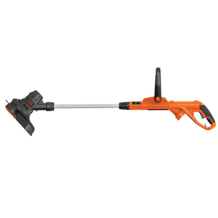 side profile view of the Black and Decker ST8600 String Trimmer