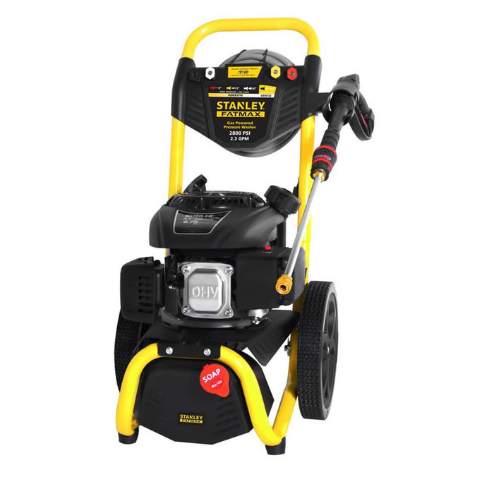 Stanley SXPW2823K 149cc 2800-Psi 2.3-Gpm Gas Powered Cold-Water Pressure Washer