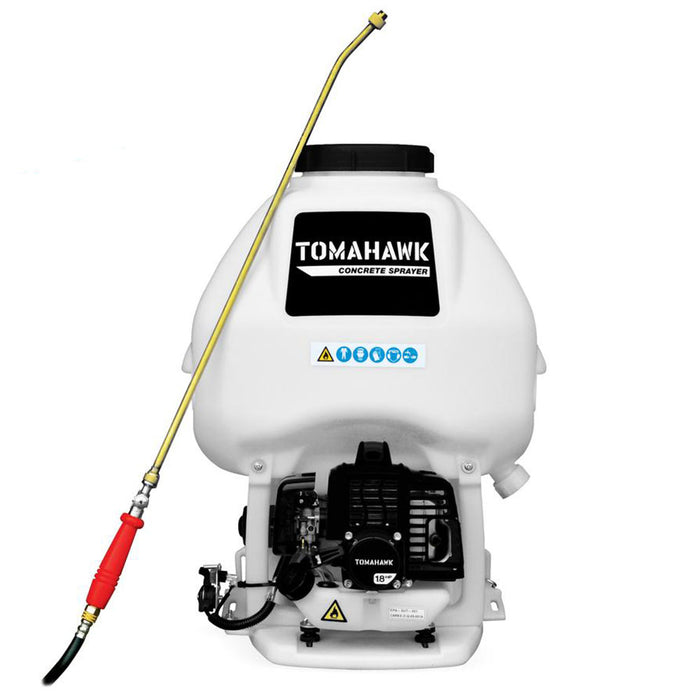 Tomahawk Power TCS6.5 1.8 HP 6.5 Gallon Backpack Sprayer w/ 0.5 GPM Wand Nozzle