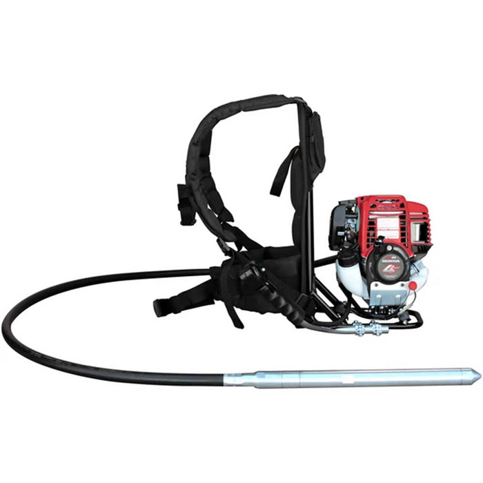 Tomahawk Power TVIBH+TVW10-P 1.6 HP Honda Concrete Vibrator w/ 10' Whip Backpack