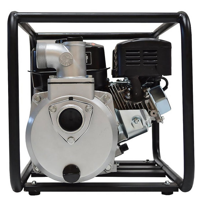 "Tomahawk Power TW2 2"" 6.5 HP Gas Engine Water Pump w/ Roll Cage Frame"