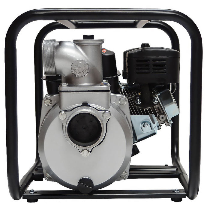 "Tomahawk Power TW3 3"" 6.5 HP Gas Engine Water Pump w/ Roll Cage Frame"