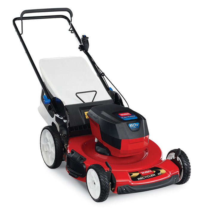 Toro 20361T 60 Volt 22 Inch Cordless Recylcer Push Lawn Mower, Bare Tool