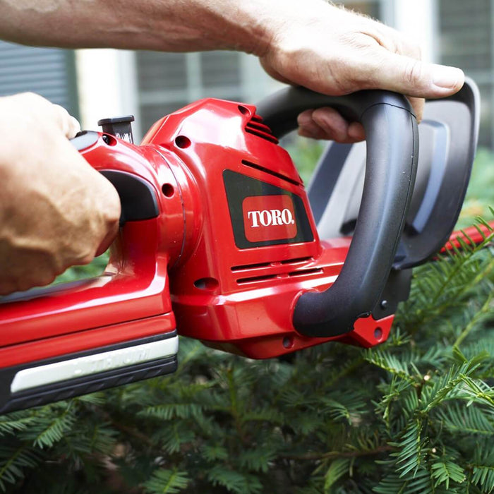 Toro 51494 20-Volt 22-Inch Cordless Lithium-Ion Dual-Action Hedge Trimmer