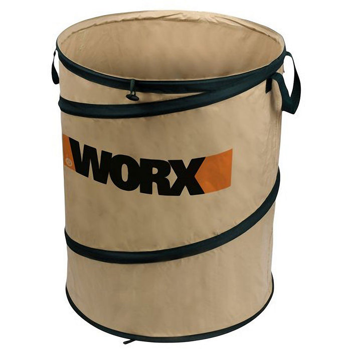 Worx WA0030 26-Gallon Collapsible Landscaping Spring Utility Bucket Yard Bag