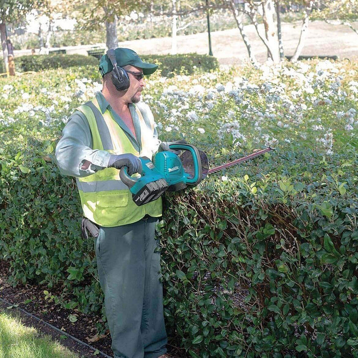 Makita X2 XHU04Z 18-Volt LXT Lithium-Ion (36-Volt) Cordless Hedge Trimmer-Bare Tool