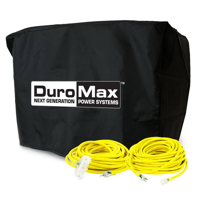 DuroMax XP4000-DXKIT 25-Foot Extension Power Cord Kit w/ Generator Cover