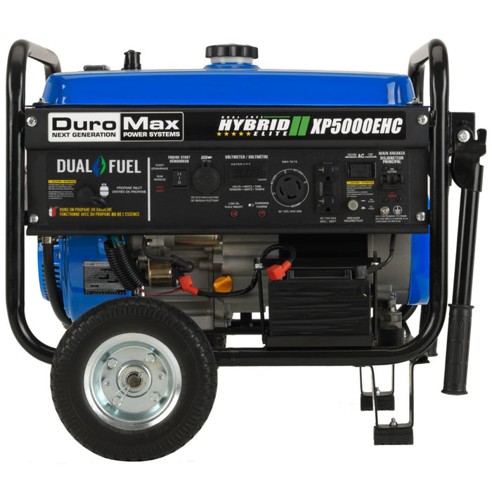 DuroMax XP5000EHC 5kW Electric Start Hybrid Portable Generator - Canadian Model