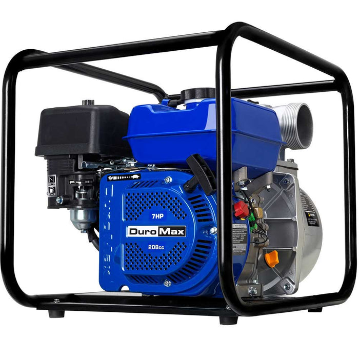 "DuroMax XP650WP-SHK 7 HP 220 GPM 3600 RPM 3"" Gas Engine Water Pump Kit"