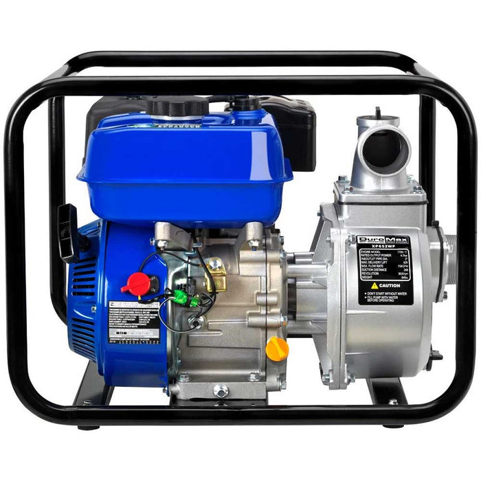 "DuroMax XP652WP-SHK 7 HP 158 GPM 3600 RPM 2"" Gas Engine Water Pump Kit"