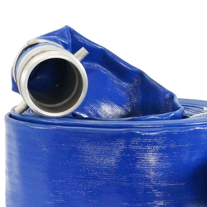 DuroMax 4-Inch x 25 Ft Discharge Evacuation Hose Water Pump - NPT Camlock - HP0425D
