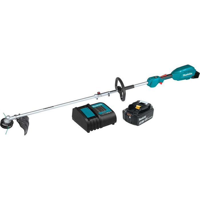 "Makita XUX02SM1X1 18V LXT Li-Ion Couple Shaft Power Head Kit w/ 13"" Attachment"