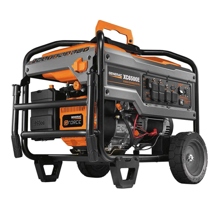 Generac 6825 426cc 6,500-Watt Electric Start Portable Generator - XC6500E