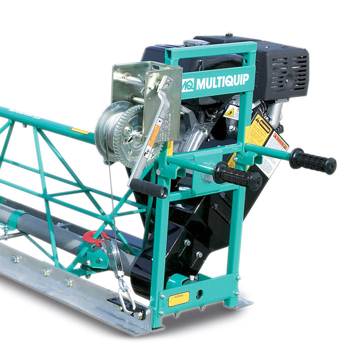 Multiquip MSHE25 8000 Vibration Cycle 2-1/2-Foot Engine-Driven Truss Screed