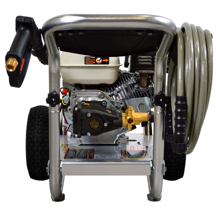Simpson ALH3425 3,400-Psi 2.5-Gpm Cold Water Gas Aluminum Series Pressure Washer - 60689