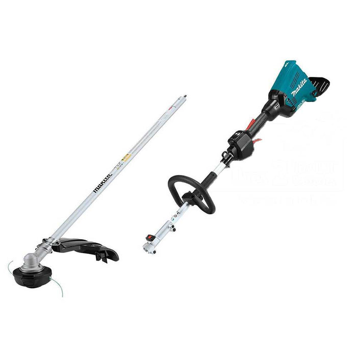 Makita X2 XUX01ZM5 36V LXT Shaft Power Head Attachment W/ Trimmer - Bare Tool