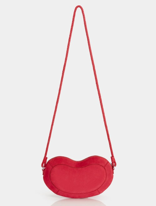 Halston Heritage Brooke Bean Crossbody in Currant