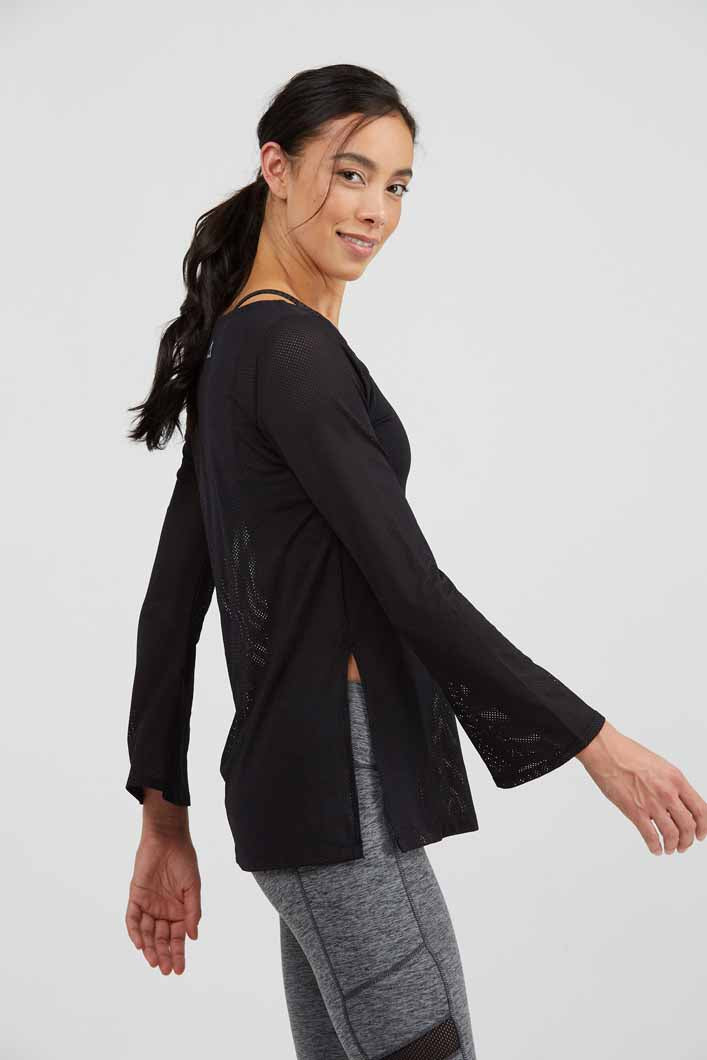 PrismSport Belle Tunic in Black