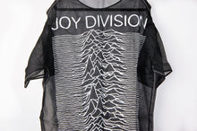 R13 Joy Division black silk long top