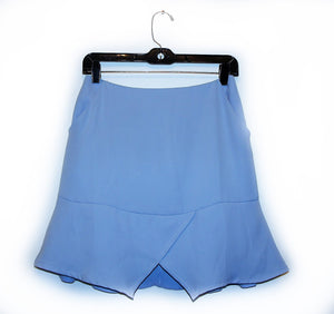 "State of being pale blue ""Vision"" skirt"