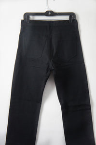Maxwell Snow silver lining men's jeans in black