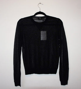 "Theory ""Yulia D Crimp Knit""  long sleeve top"