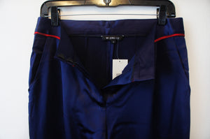 Mi Jong Lee size 4 pleat front peg trouser