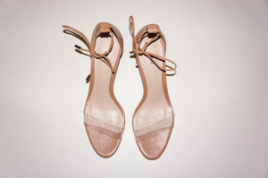 "Schutz ""Lucy"" clear patent sandals"