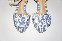 "Schutz Women's Blue ""Ortiz"" wedges"