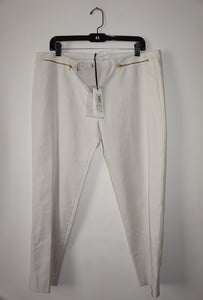 Versace Collection white pants