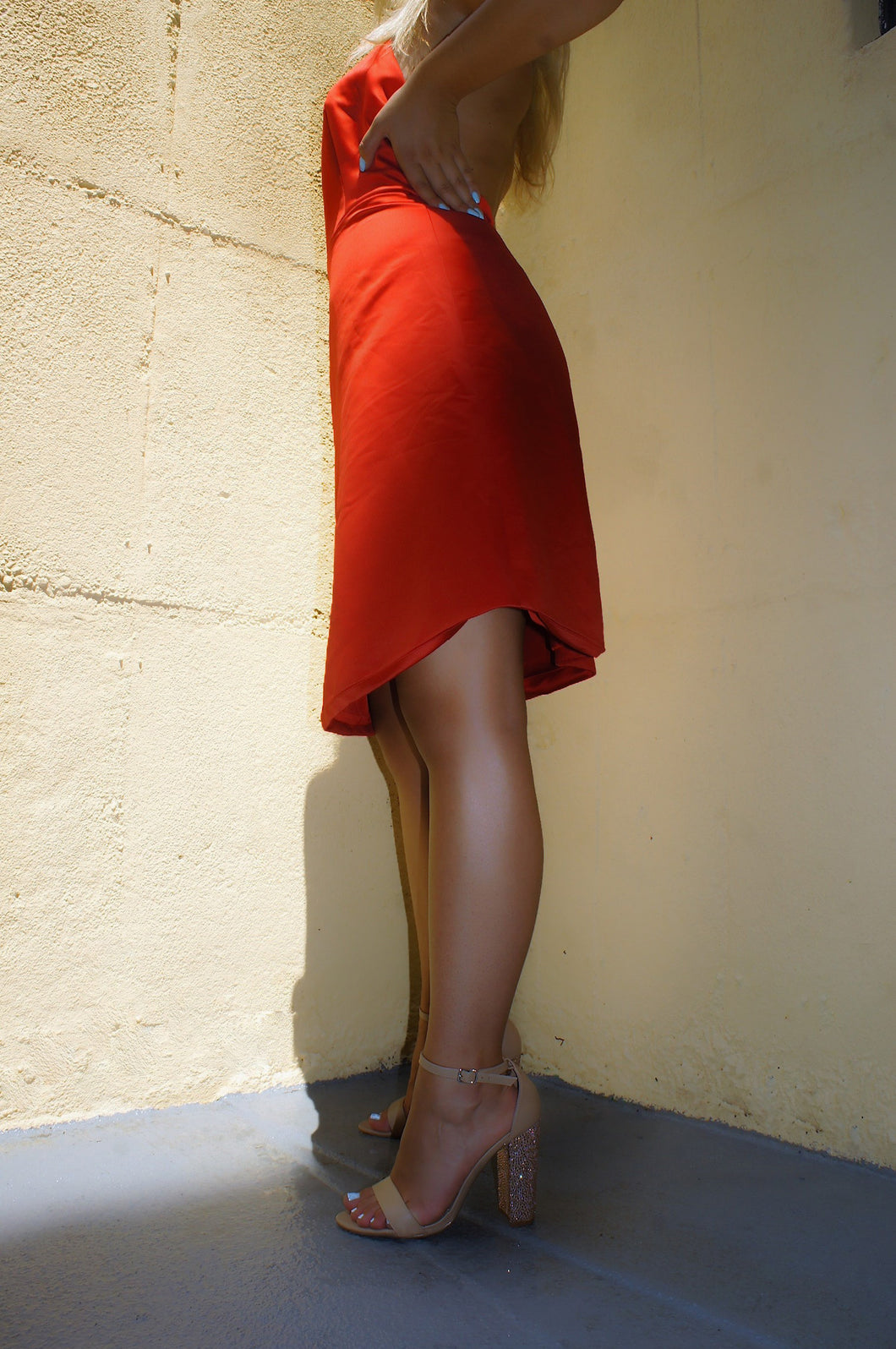 Ramy Brook red dress