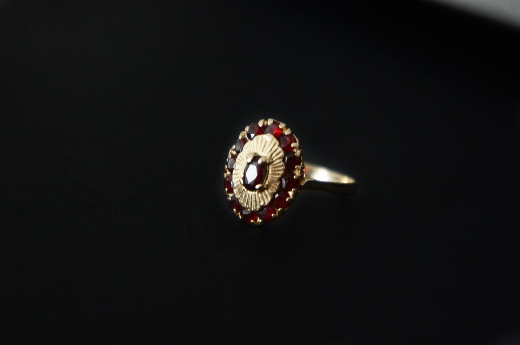 Ruby and 18K ring