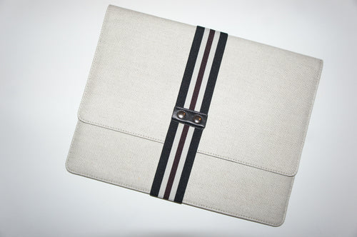 Theory Envelope clutch w/ stretchy clasp