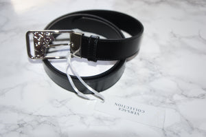 Versace collection leather men's belt