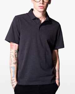 Science of Apparel Charcoal Einstein Polo