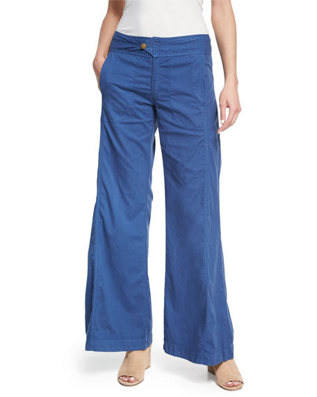 XCVI Hayden Wide-Leg Pants in Indigo