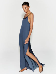 Halston Heritage Applique Maxi dress