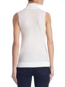 Theory Bias Silk Top in ivory