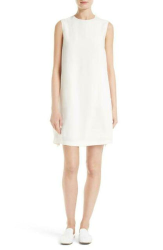 Helmut Lang off white dress with a back tie