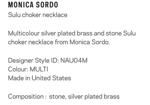 "Monica Sordo ""Sulu"" choker necklace"