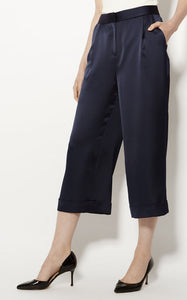Karen Millen WIDE-LEG CROPPED TROUSERS