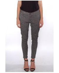 Rag & Bone White Pepper Knit Dash Trouser