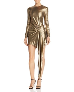 Ronny Kobo Haddasah Dress in Gold