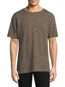 Theory Palm Jacquard Tee