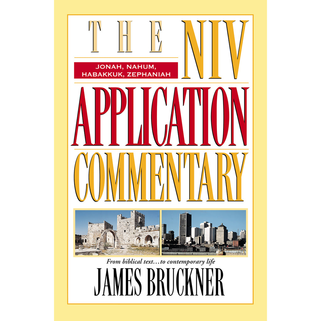 NIV Application CommentaryJonah Nahum Habakkuk Zephaniah (Hardcover)