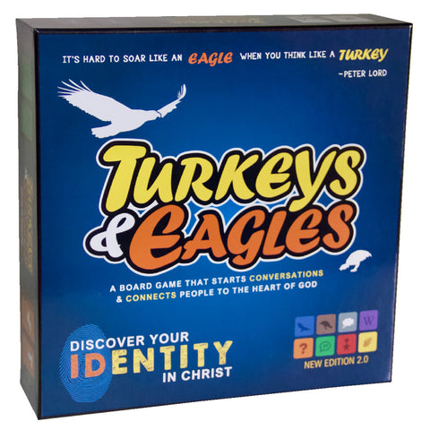 Board Game: Turkeys And Eagles Updated (Boxed Set)