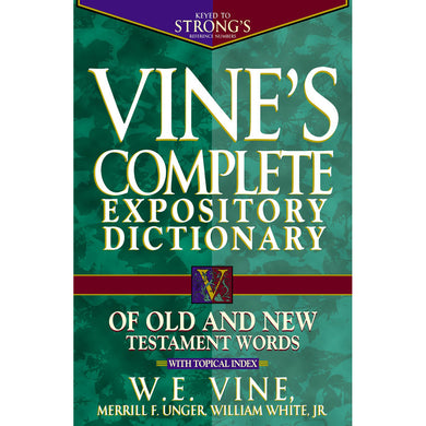 Vines Complete Expository (Hardcover)