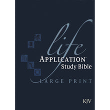 Load image into Gallery viewer, KJV Life Application Study Bible With Jacket (Hardcover)